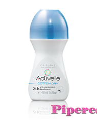 Activelle Cotton dry  24 órás izzadásgátló golyós dezodor gyapottal