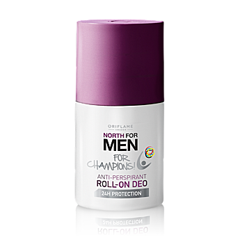 North For Men – For Champions golyós deo