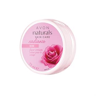 Naturals Rózsa ragyogást kölcsönző arckrém 75 ml