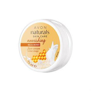 Naturals Tej és méz tápláló arckrém 75 ml