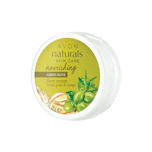 Naturals Zöld olívabogyó tápláló arckrém 75 ml