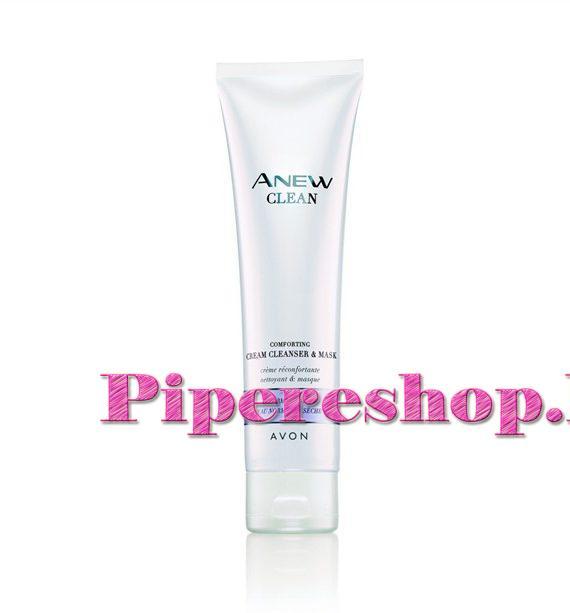 Anew Cleanse bőrnyugtató hatású, krémes arctisztító és arcmaszk