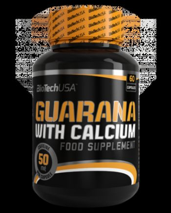 GUARANA WITH CALCIUM - 60 KAPSZULA