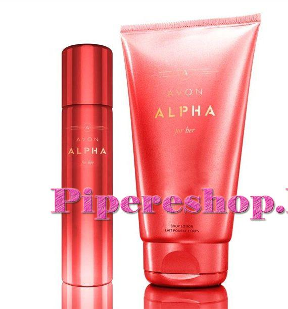 Avon Alpha for Her szett női