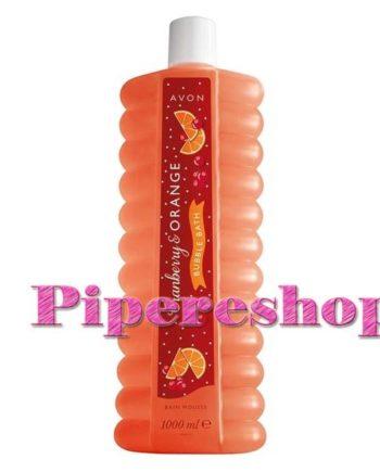 Vörös áfonya és narancs habfürdő 1000 ml