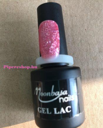 Csillámos rózsaszín Gél Lakk 162-es 6 ml