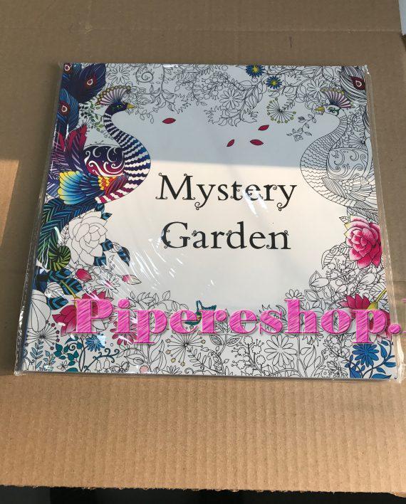 Mystery Garden mesébe illő rajzokkal