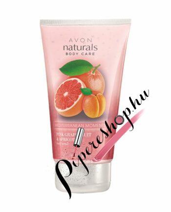 Avon Senses Rózsaszín grépfrút és sárgabarack testradír - pipereshop.hu