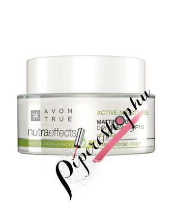 Avon Nuraeffects Mattító és hidratáló nappali krém SPF 15 50 ml