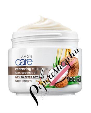 Avon Care Kókuszolajos arckrém 100 ml