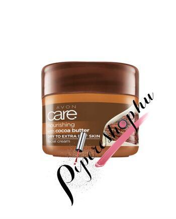 Avon Care Tápláló arckrém kakaóvajjal 100 ml