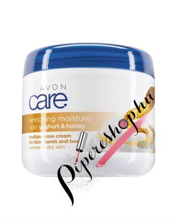 Avon Care Hidratáló méz és joghurt többfunkciós krém 400 ml