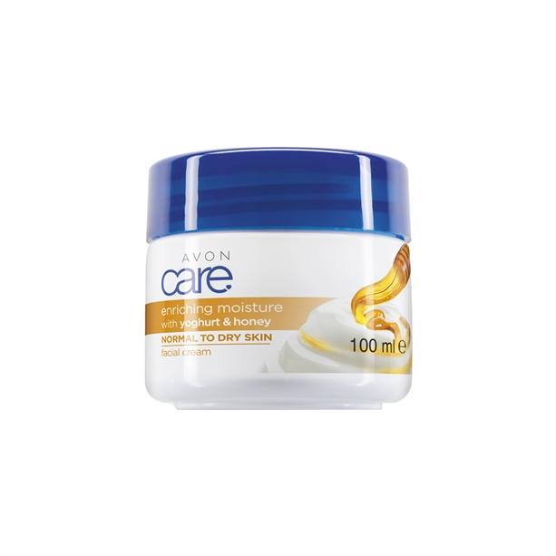 Avon Hidratáló méz és joghurt arckrém - 100ml