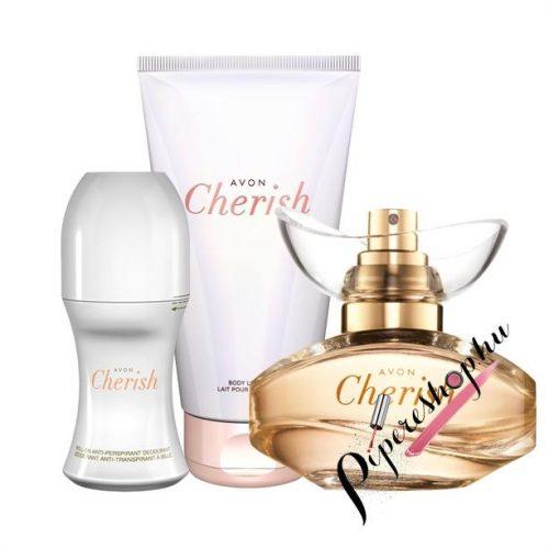 Avon Cherish 3 db-os szett - illattal teli cseresznyevirág - pipereshop.hu