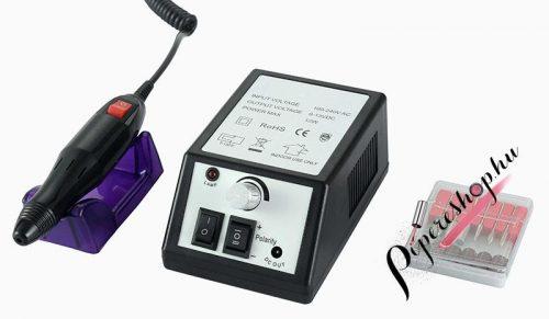 Moonbasa Nails fekete Elektromos csiszológép HBS-025N - pipereshop.hu