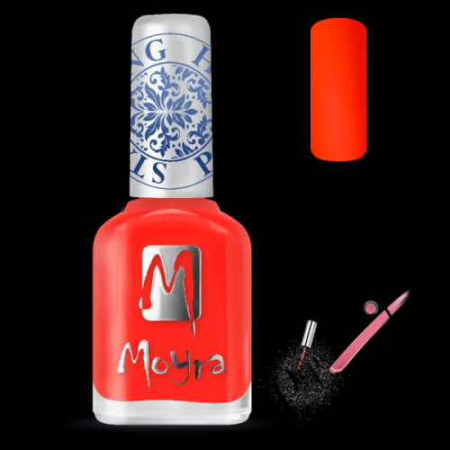 Moyra Nails Nyomdalakk SP 21 Neon Red 12 ml