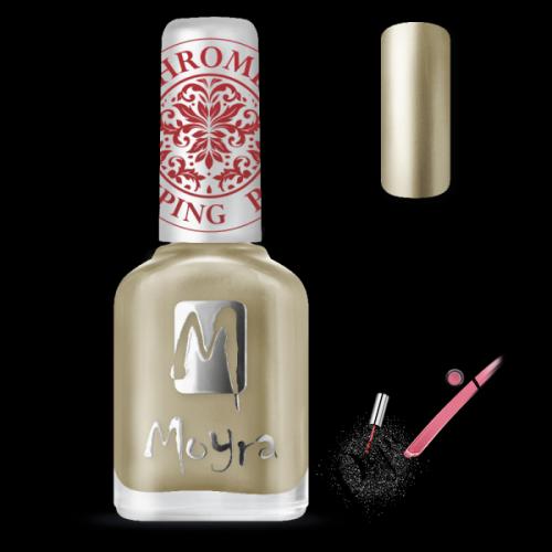 Moyra Nails Nyomdalakk SP 24 Chrome Gold 12 ml