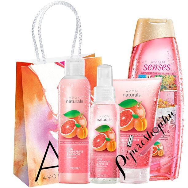 Avon Senses Citrusos szépségcsomag 5 darabos - pipereshop.hu