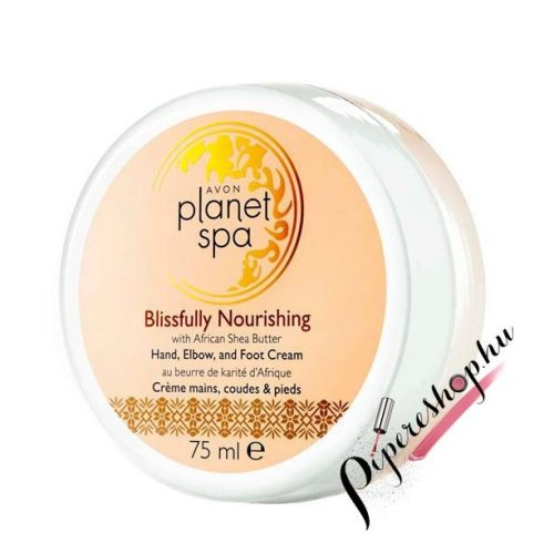 Avon Planet Spa Blissfully Nourishing kéz-, könyök- és lábkrém 75 ml