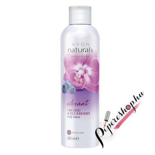 Avon Naturals Orchidea és áfonya testápoló 200 ml