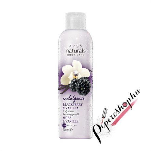 Avon Naturals Szeder és vanília testápoló 200 ml