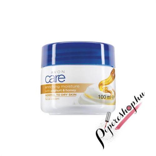Avon Care Hidratáló méz és joghurt arckrém 100 ml
