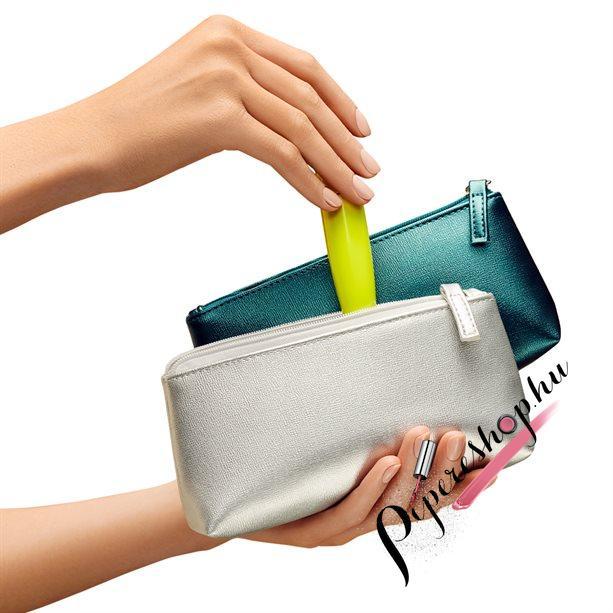 Avon Metálfényű kozmetikai táska