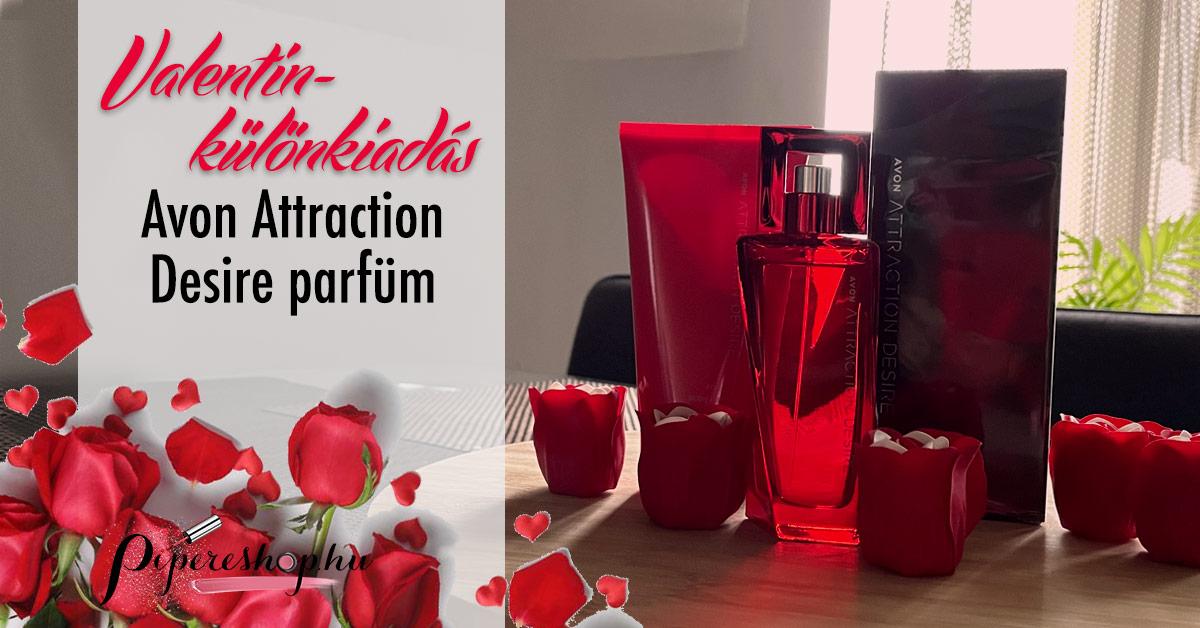 Avon Attraction Desire parfüm pároknak