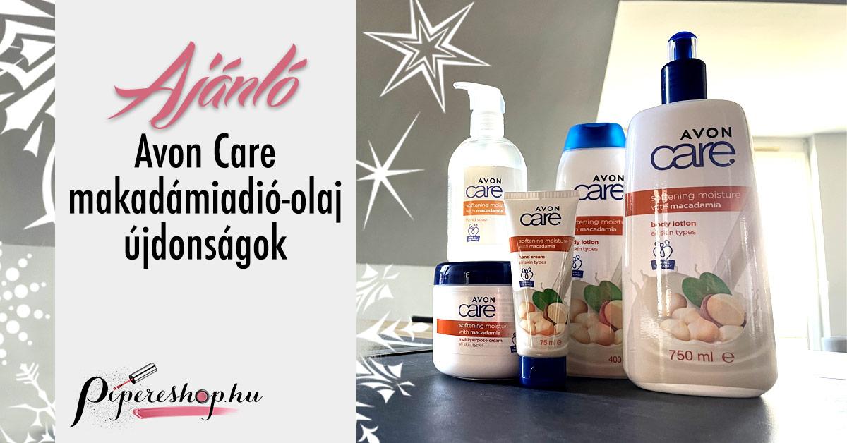 Avon Care makadámiadió-olaj testápolók