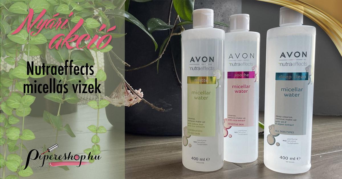 nyári Avon micellás víz akció
